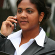Businesswoman on Phone — Foto Stock