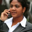 Businesswoman on Phone — Stock fotografie