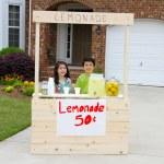 Lemonade Stand — Stock Photo