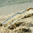 Message In Bottle — Stock Photo