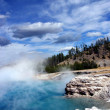 Yellowstone Thermal Lake - Stockfoto