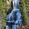Yellowstone Triple Falls — Stock Photo