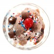 Stock Photo: Ice Cream Sundae