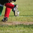 Running On Soccer Field — Stock Photo #10004050