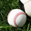 Baseball and Soccerball — Stock Photo