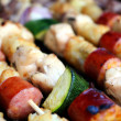 Royalty-Free Stock Photo: Kabobs On The Grill