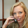 Businesswoman on Phone — Stock Photo