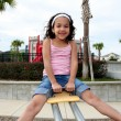 Young Girl on Playground — Stock Photo #10004962