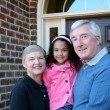 Grandparents with Grandaughter — Stock Photo #10005011