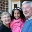 Grandparents with Grandaughter — Stock Photo #10005014