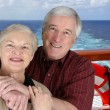 Stock Photo: Seniors On Vacation