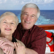 Seniors On Vacation — Stock Photo
