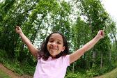 Szczęśliwa dziewczyna — Zdjęcie stockowe