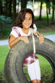 Tire Swing — Fotografia Stock