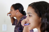 Brushing Teeth — Stock Photo