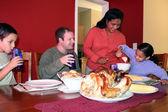 Thanksgiving Family Dinner — Stock Photo