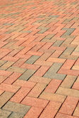 Brick Path — Stock Photo