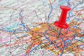 Map of Atlanta — Stock Photo