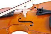 Bow and Violin — Stock Photo