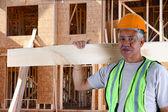 Senior Construction Foreman — Stock Photo