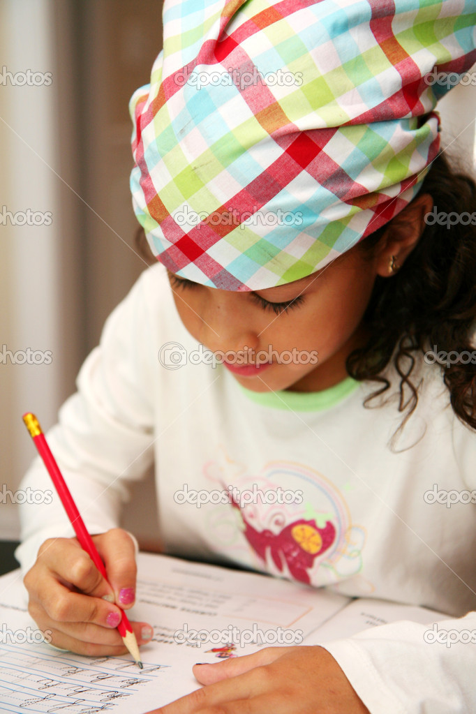 Child at school — Stock Photo #10000814