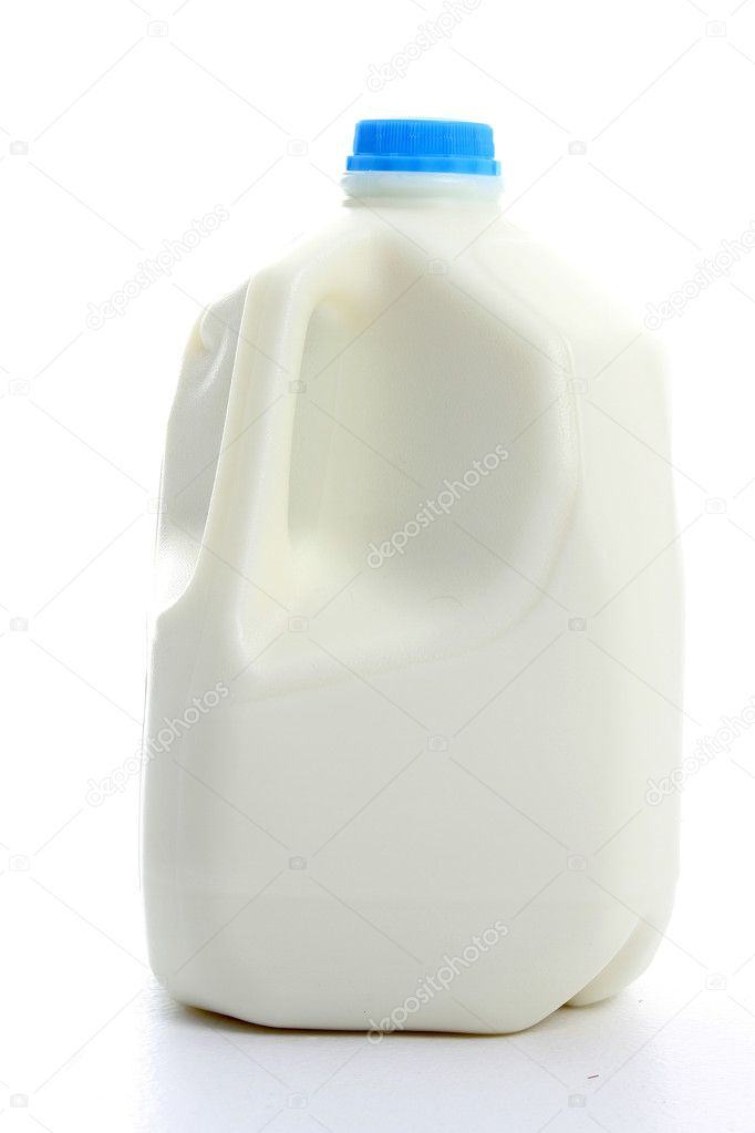 A gallon of milk on a white background — Stock Photo #10003817