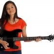 Teen Guitar Player — Stock Photo #10105892