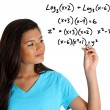 Math Student - Stock Photo