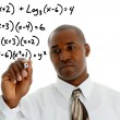 Math Teacher - Stock Photo