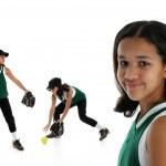 Softball Player — Stock Photo