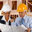 Senior Construction Foreman — Stock Photo #9997116