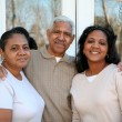 minority family — Stock Photo