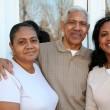 Minority Family — Stock Photo