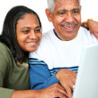 Royalty-Free Stock Photo: Seniors On Computer
