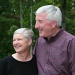 Happy Senior Couple — Stock Photo #9997539