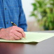Writing on Papers — Stock Photo #9997547