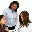 Child At Doctor — Stock Photo