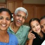 Minority Family — Stock Photo #9999598