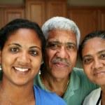 Minority Family — Stock Photo #9999600