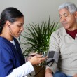 Stock Photo: Home Health Care