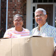 Senior Couple Moving — Stock Photo #9999848