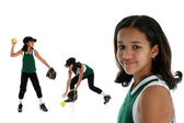 Softball Player — Stock Photo