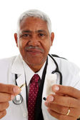 Minority Doctor — Stock Photo