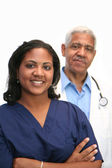 Minority Doctor — Foto Stock