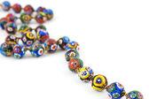 Murano glass colourful necklace — Stock Photo