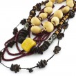African handcraft necklaces — Stock Photo