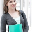 Female student — Stock Photo #10483766