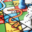 Close Up Of Snakes And Ladders Board — Stock Photo #10018028