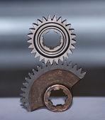 Balanced gears — Stock Photo