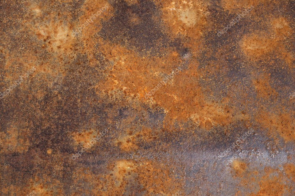 A photo of rusty metal. Background abstract image texture of rusty metal — Stock Photo #10200583